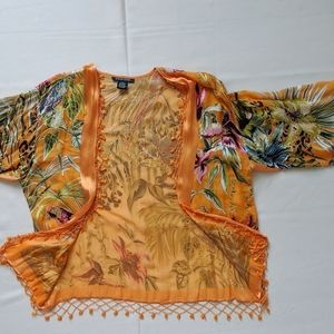Silk Cover up Shawl